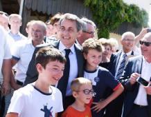 Nicolas SARKOZY en Alsace le 09-07-16