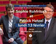 Rencontre avec Sophie ROHFRITSCH et Patrick HETZEL