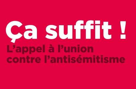 Rassemblement contre l'antisémitisme – Mardi 19 février 19H à Strasbourg