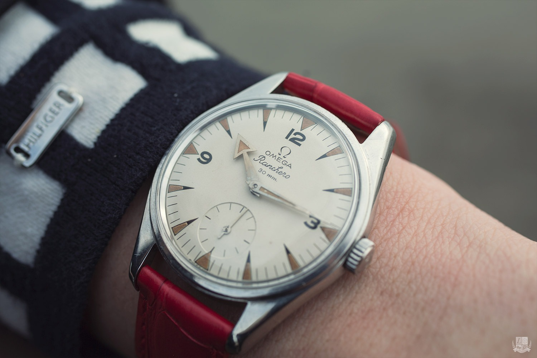 Vintage Omega Ranchero - wrist