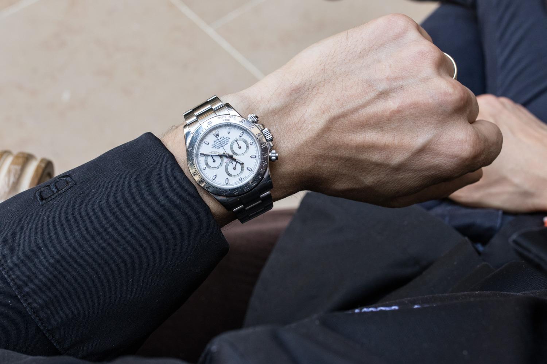 Portrait du chef du George Simone Zanoni - Rolex Daytona