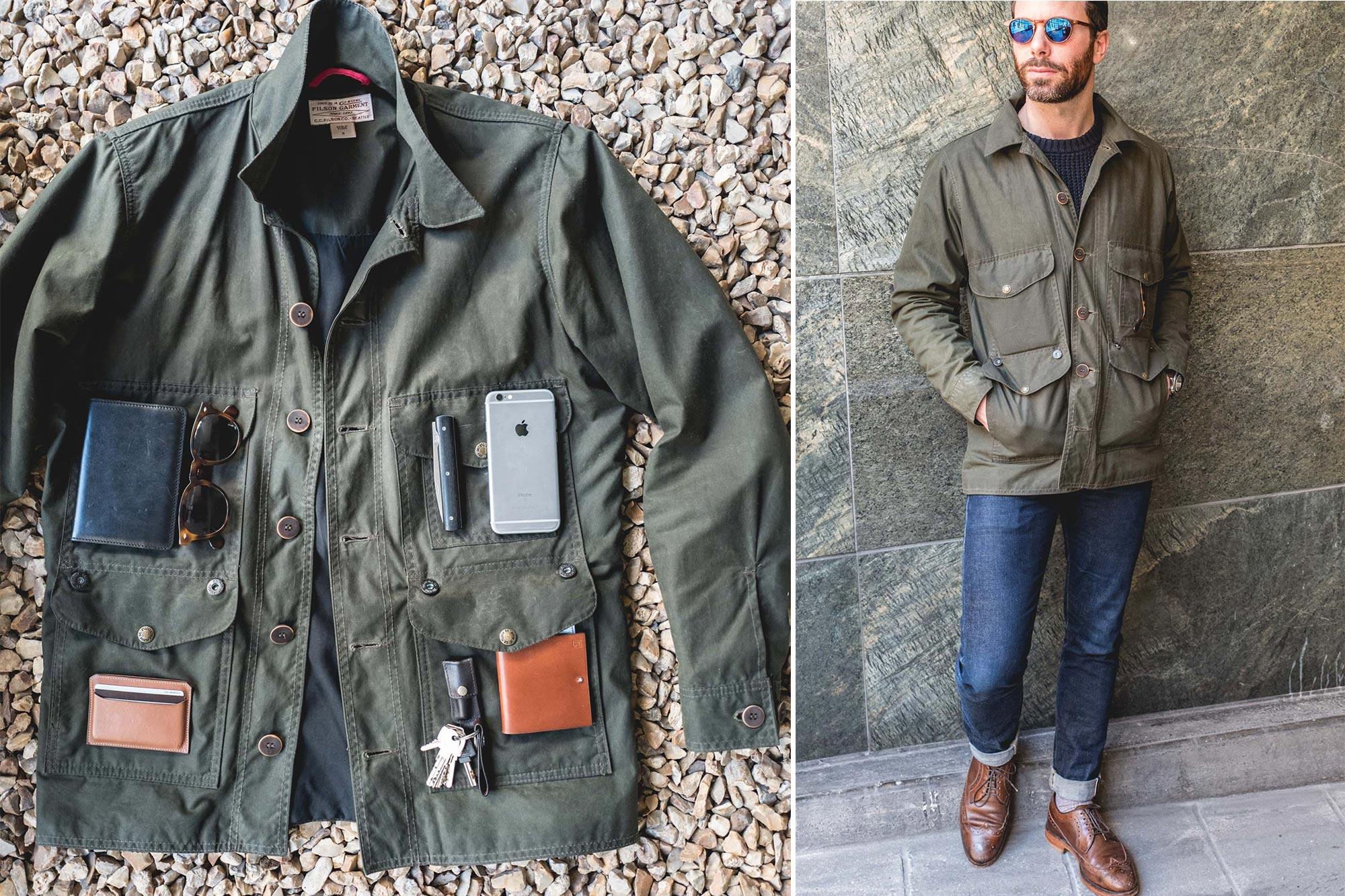 Filson 10475 Waxed Jacket