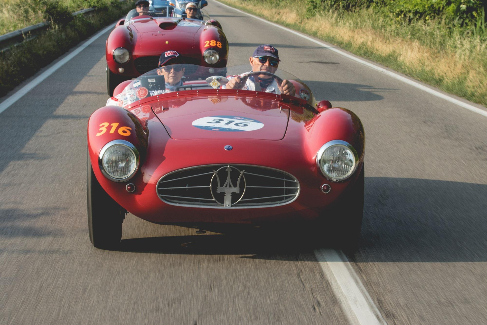 Mille Miglia - La course