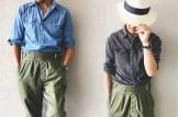 Shuhei Nishiguchi - Pantalon Gurkha