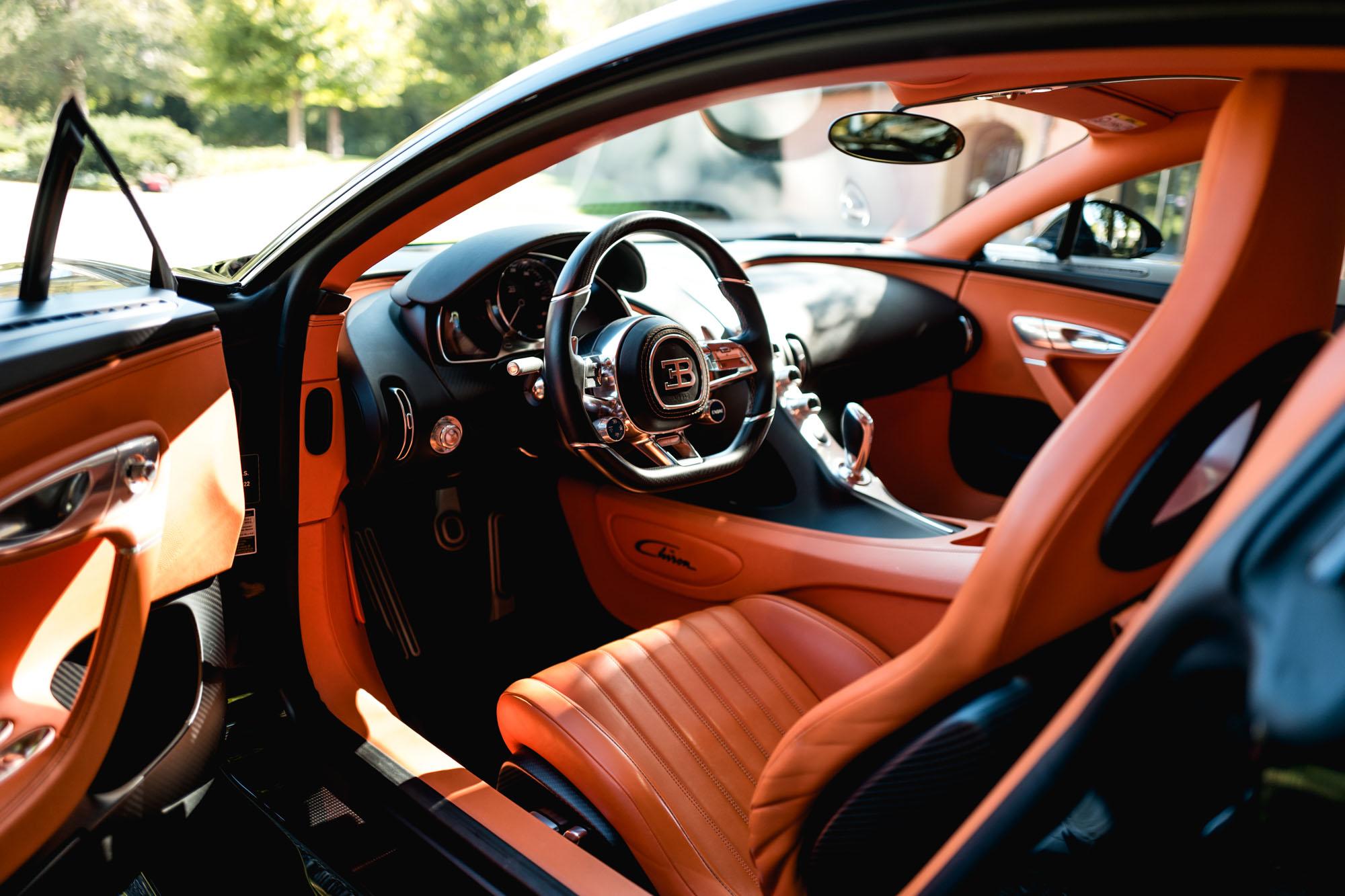 Ateliers Bugatti à Molsheim - Bugatti Chiron - Intérieur