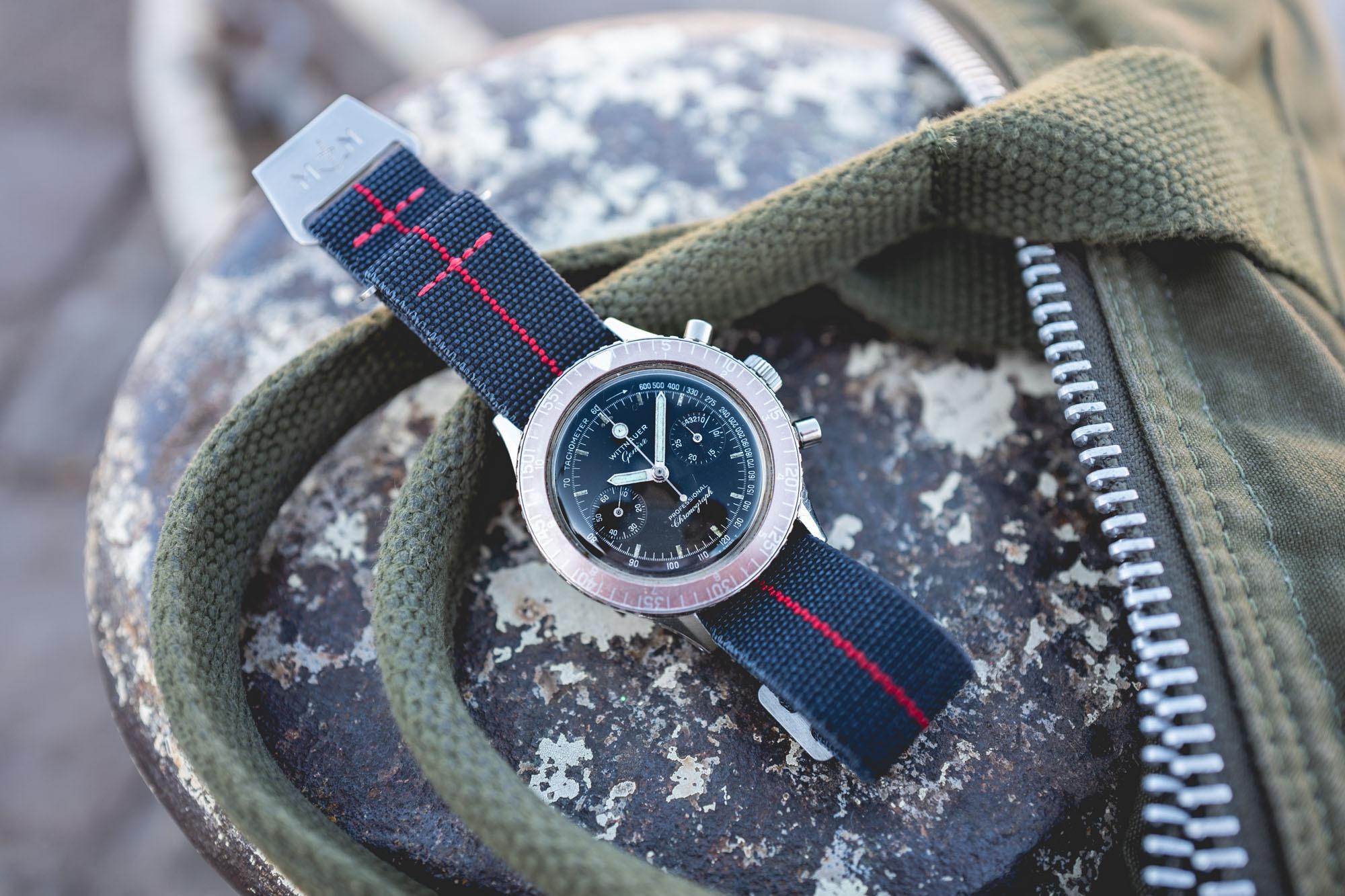 MN Straps - Bracelets Marine Nationale - Wittnauer Chronograph