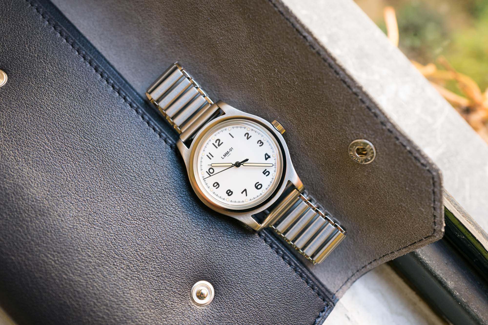 La Montre Merci LMM-01 - Field Watch Blanche