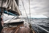 Pangaea sailing to Perth from Antarctica.