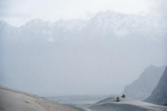 Expedition to K2. Driving on two Mercedes Benz cars G500 from Switzerland to Pakistan. Pakistan.Skardu