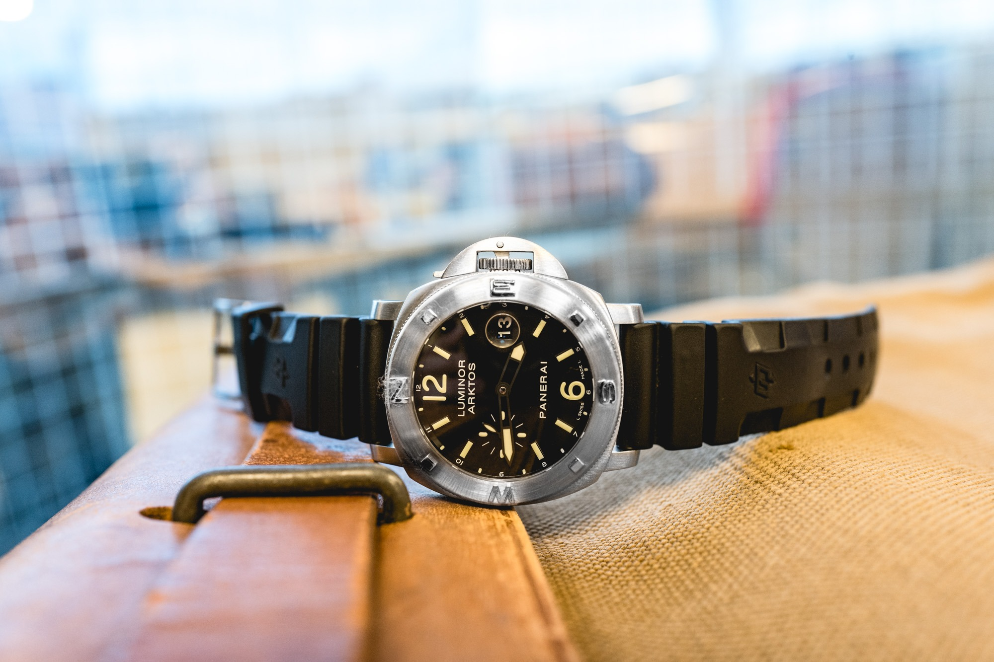 Panerai Luminor Submersible ARKTOS - Mike Horn
