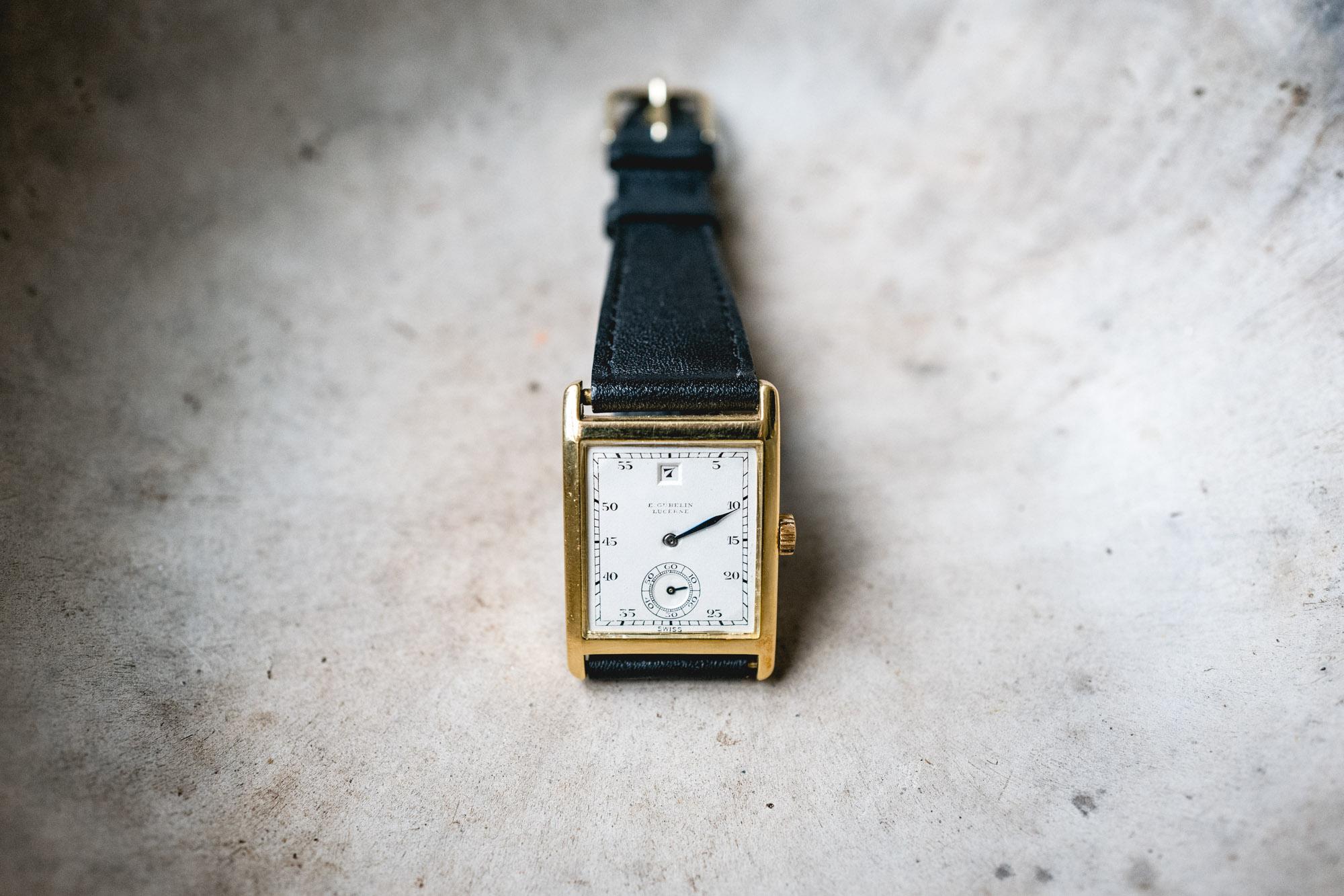 Tajan - Vente de montres du 11 décembre - gübelin Lucerne Jumping Hours