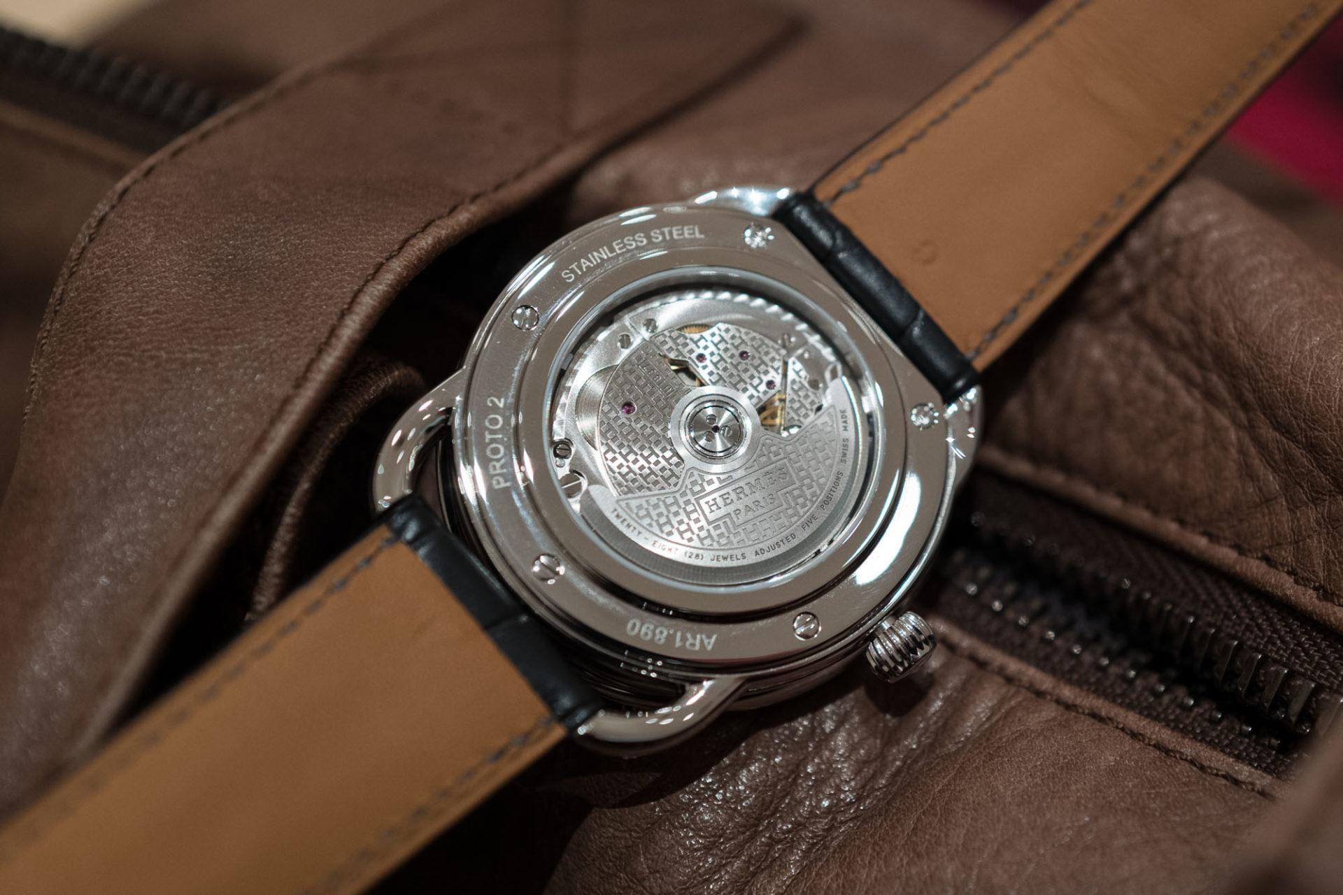 SIHH 2019 - Hermès Arceau L'heure de la Lune