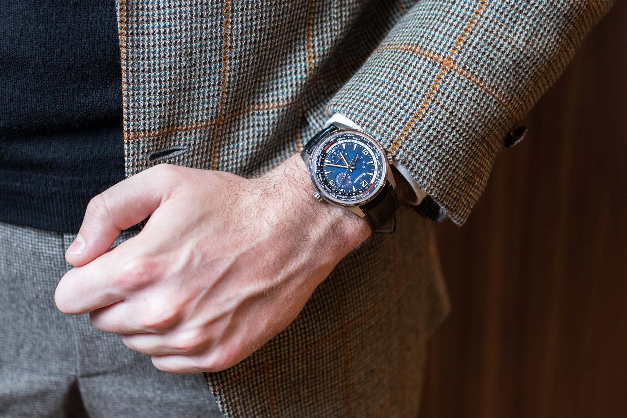 SIHH 2019 - Jaeger-LeCoultre Polaris Geographic WT