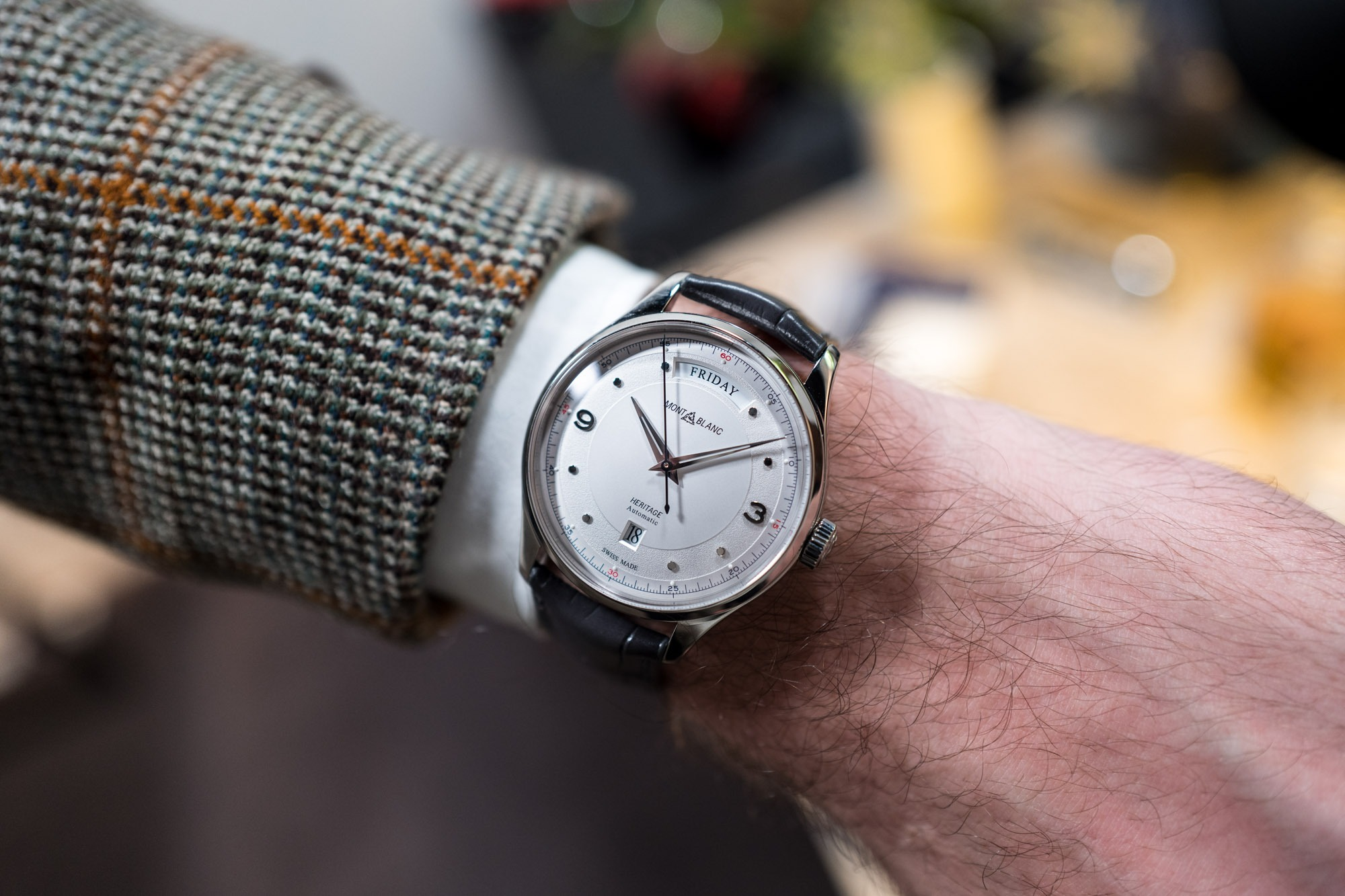 SIHH 2019 - Montblanc Heritage Automatic Day Date