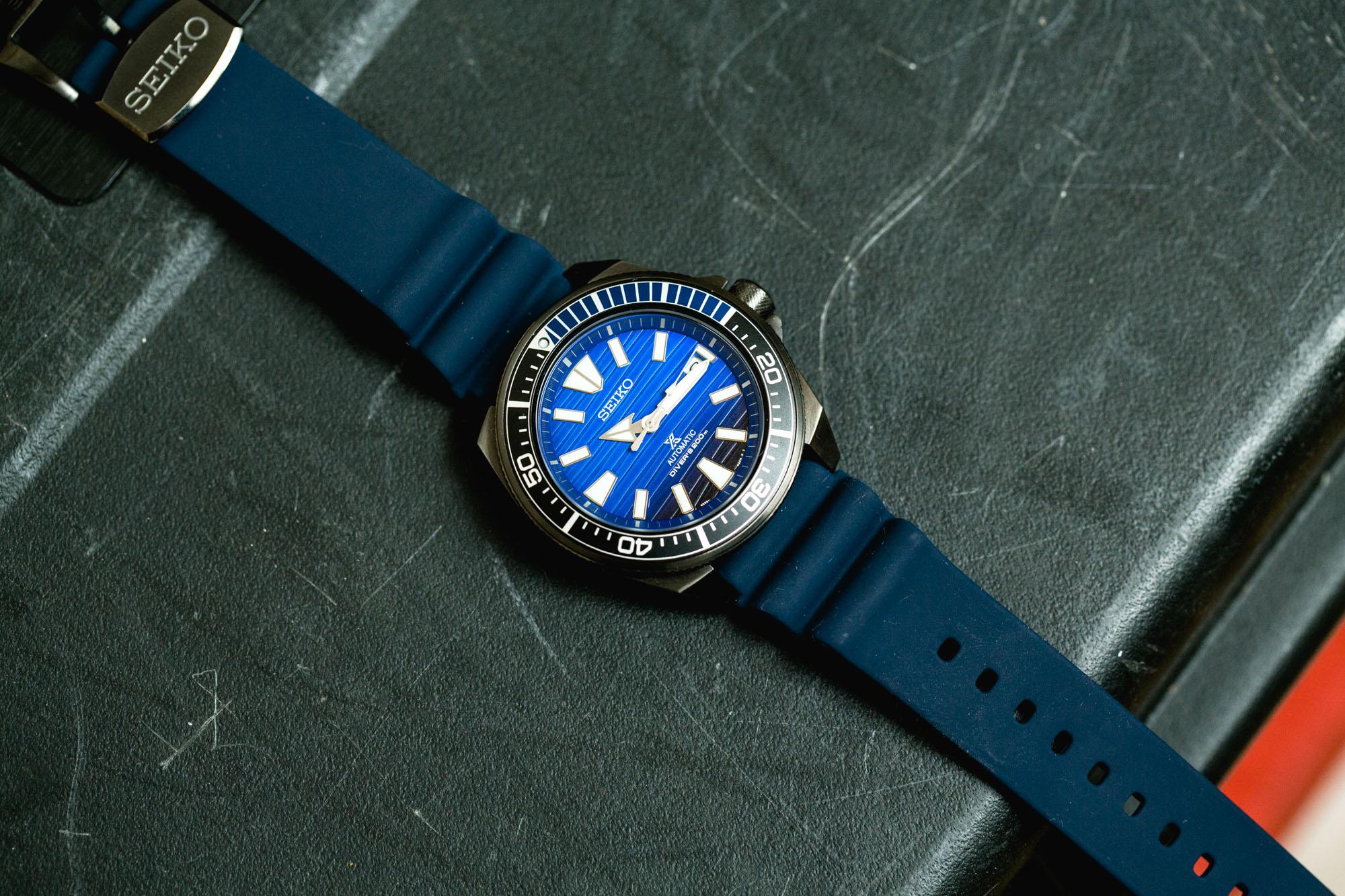 Seiko Prospex SRPD09K1 Samurai Save the Ocean