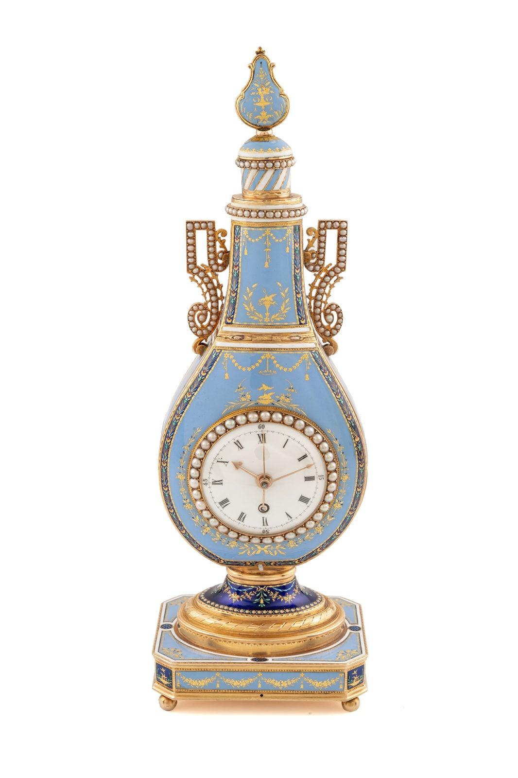 Vente Antiquorum des 11 & 12 mai - Horloge Jacquet-Drot et Leschot