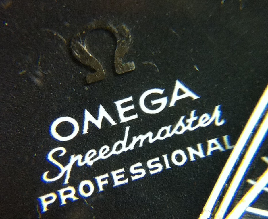 Omega Speedmaster Font