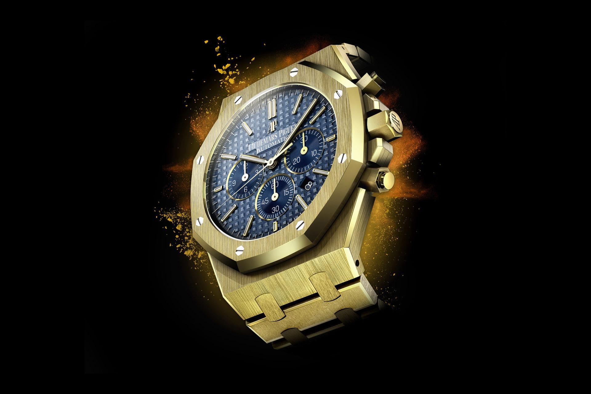 Florian Benedetto - L'horloger 3D - Audemars Piguet Royal Oak chronograph