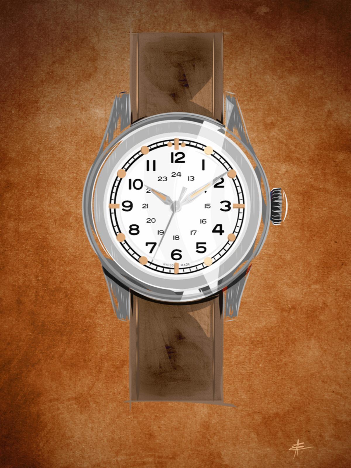 Watchoniste - Serica W.W.W. WMB Edition