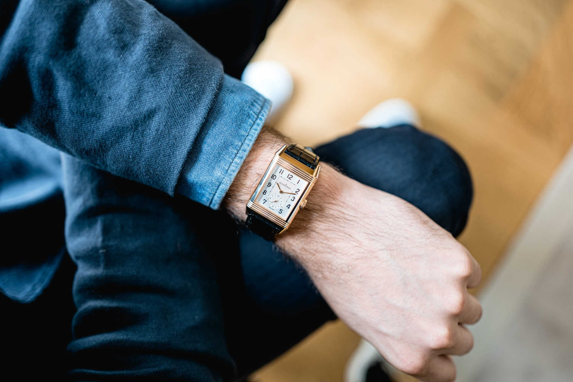 Jaeger-LeCoultre Reverso Classic Large Duoface Small Seconds - Style