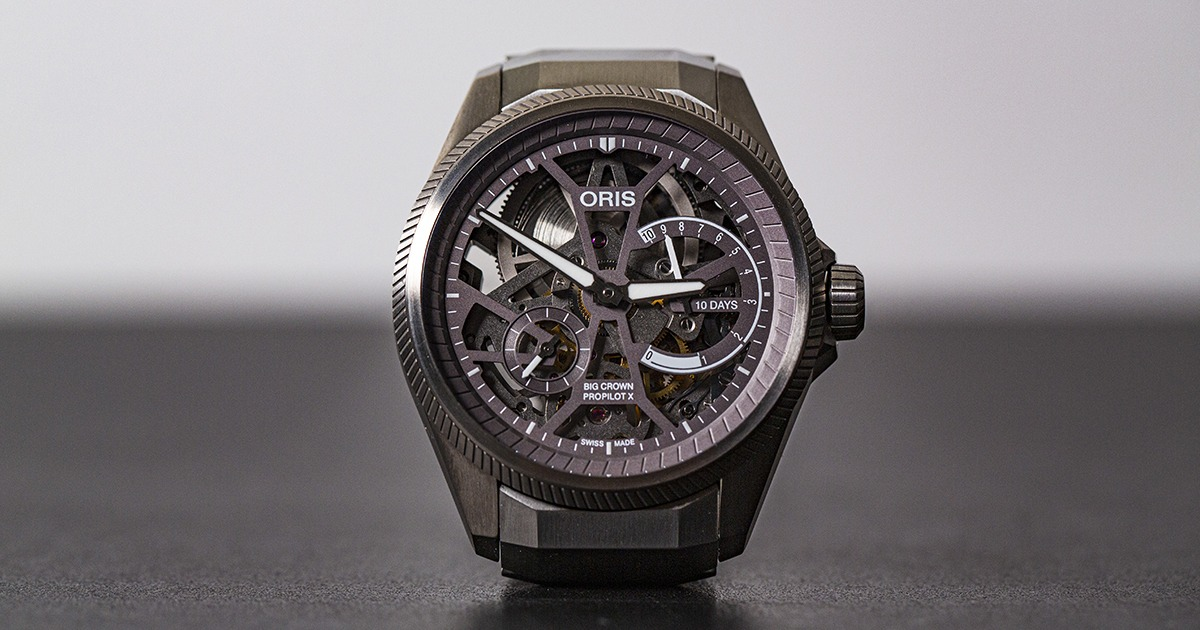 Oris Big Crown Propilot X Calibre 115 (Cover FB)