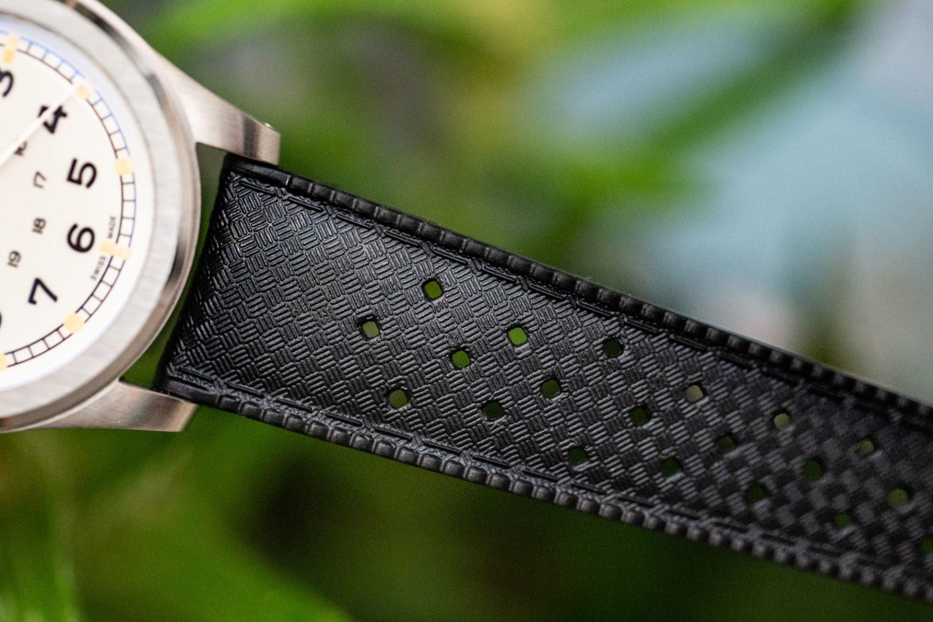 Bracelet Tropic Joseph Bonnie - Bracelet Tropic en caoutchouc vulcanisé - Montre SERICA W.W.W.