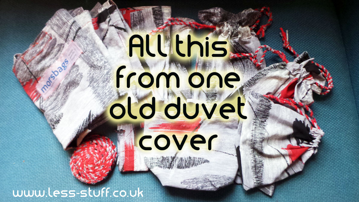zero waste duvet cover