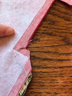 5. Clip the corners