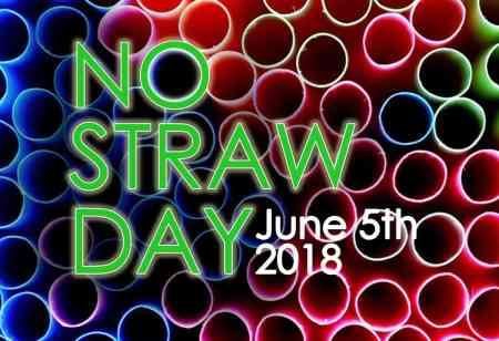 no straw day 2018