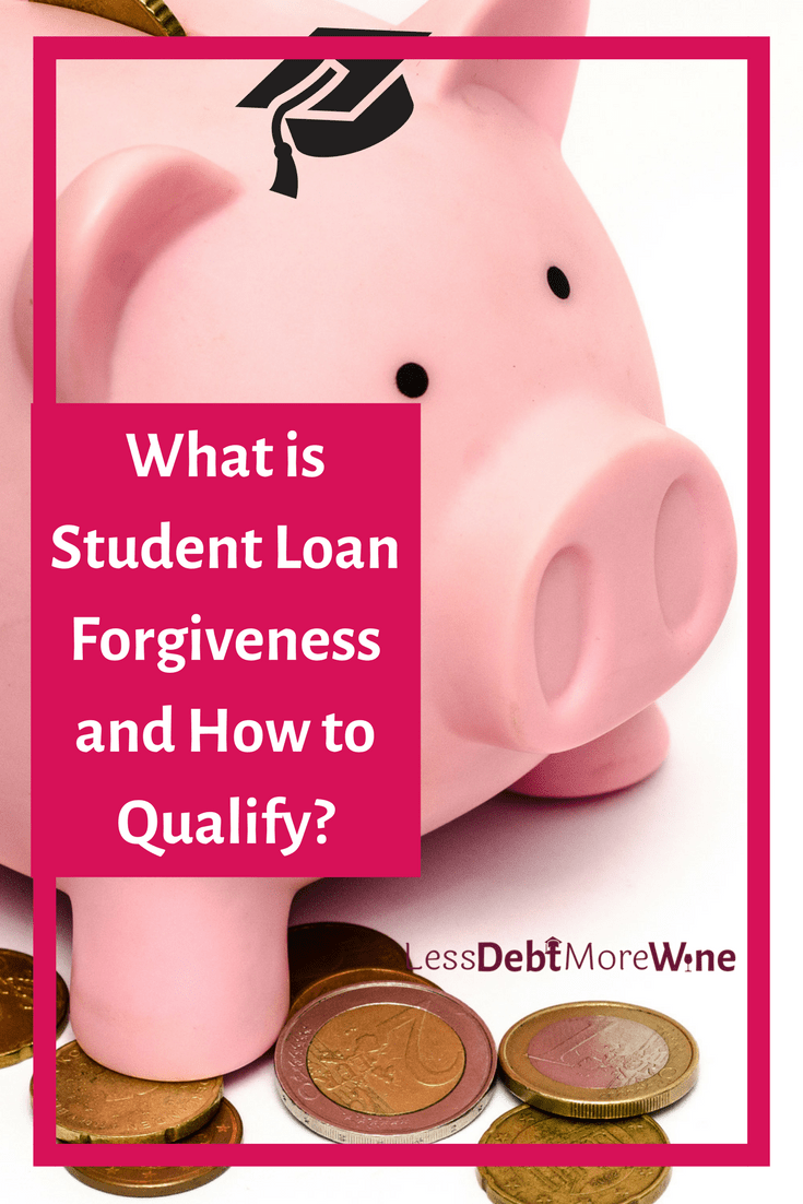 Depending on your loans and/or what you do, you just might just qualify for student loan forgiveness after a certain period.