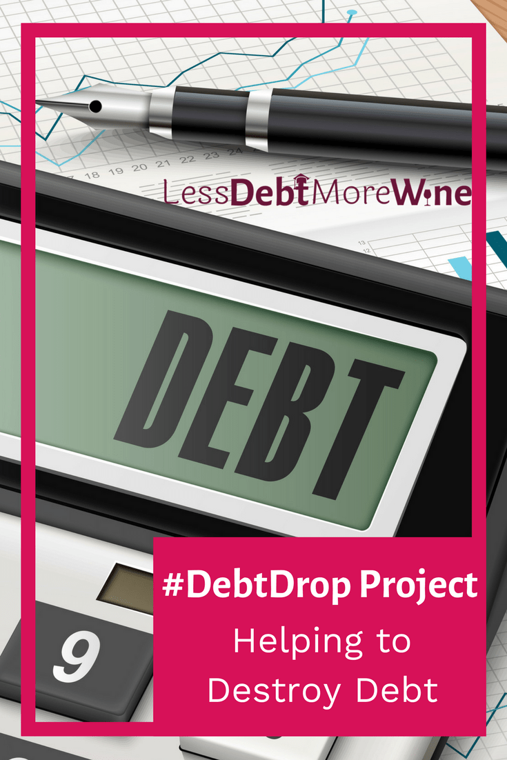 #Debtdrop helps 1 person each month, payoff $50 of debt. Melanie from Dear Debt has teamed up with the Rockstar Community Fund to make this Project possible