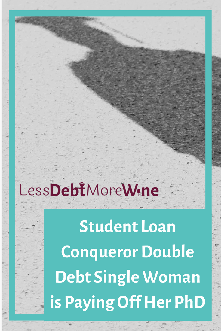 Student Loan Conquerors is an interview series. I talk with people tackling their student loan debt. Today I'm glad to talk to Double Debt Single Woman