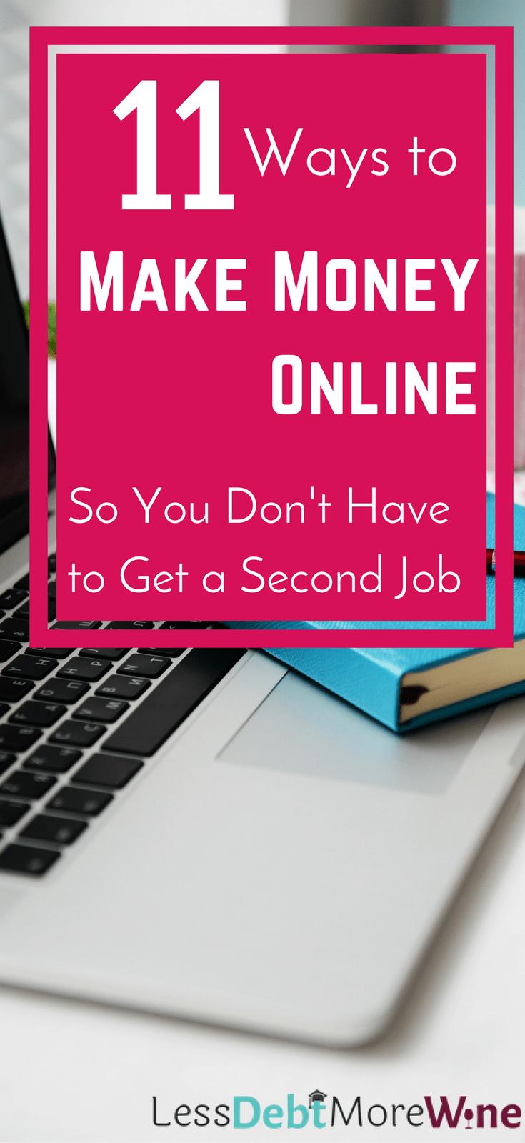 make money online | side hustle | earn extra money | make extra cash