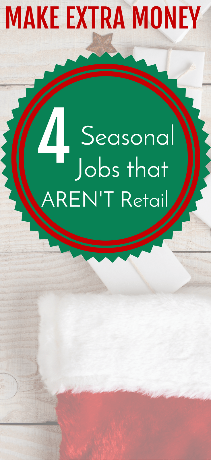 seasonal jobs | side hustle | extra money