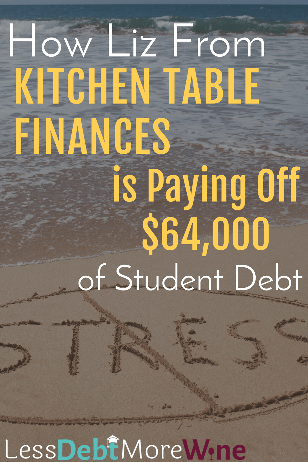 Stressing Less Helped Kitchen Table Finance's Reach Her Goals