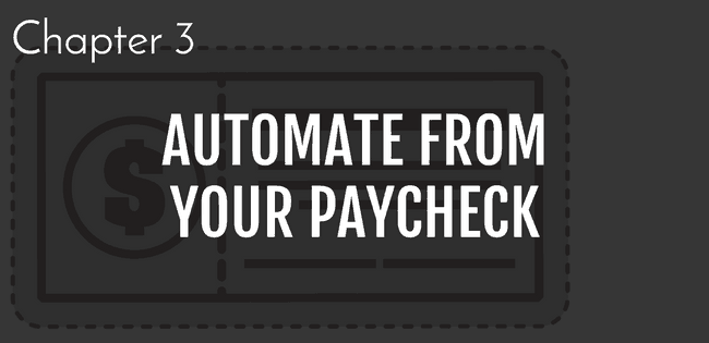 steps to build savings , step 3 automate from your paycheck | automate savings | grow savings