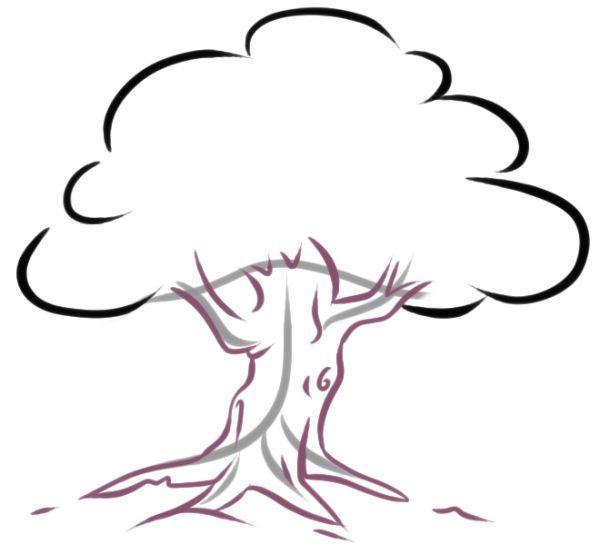 Как нарисовать дерево Lessdraw