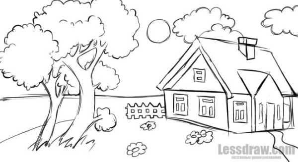 Как Я Провёл Лето Картинки Рисунки Карандашом