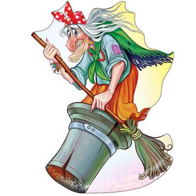 Картинка Бабы Яги