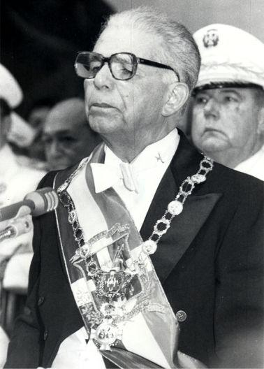 Joaquín Balaguer, former dictator of the Dominican Republic.