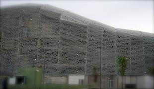 Le nouveau stade Jean Bouin. Photo: LBM