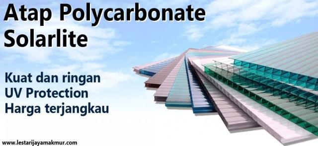 spesifikasi dan harga atap polycarbonate solarlite