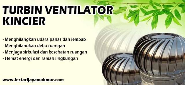 spesifikasi dan harga turbin ventilator kiencier