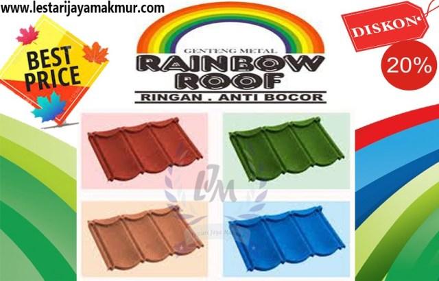 genteng rainbow roof