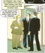 Sid Jacobson, Ernie Colón, 9/11 Bush e Rove