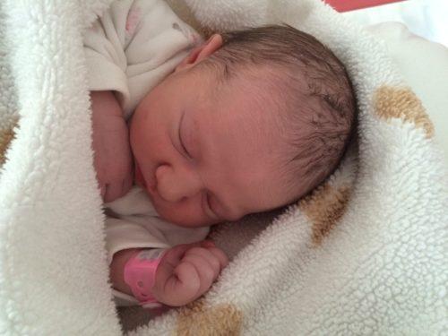 Teresa Silvestro, nata il 9 gennaio 2014 alle 8.08