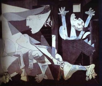 Pablo Picasso, Guernica (particolare)