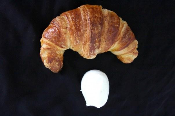 Croissant con siero di bufala