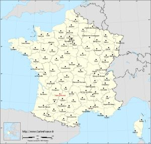 kaart-saint-cybranet