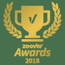 Zoover Award Gold winner 2018